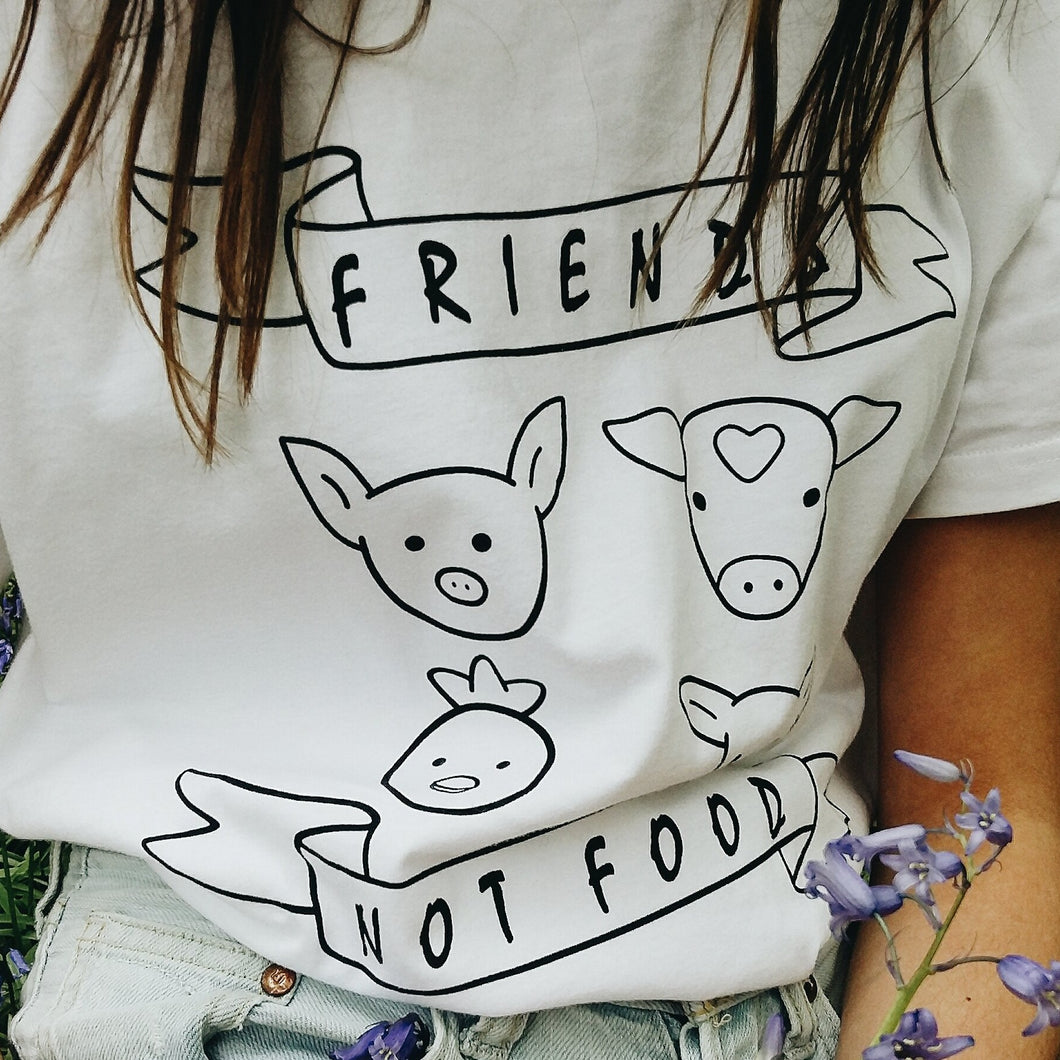 UNISEX Friends Not Food Vegan Shirt