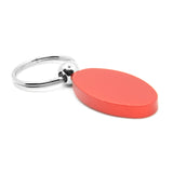 Dodge Stripe Keychain & Keyring - Red Oval