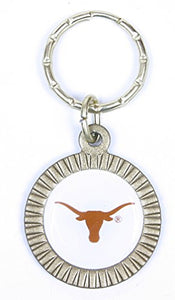 Texas Longhorns Keychain & Keyring - Circle