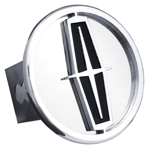 Lincoln Chrome Trailer Hitch Plug - Black