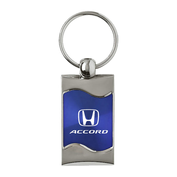 Honda Accord Keychain & Keyring - Blue Wave