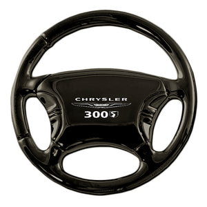 Chrysler 300S Keychain & Keyring - Black Steering Wheel