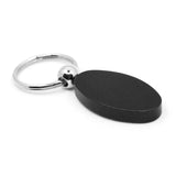 Lincoln Keychain & Keyring - Black Oval