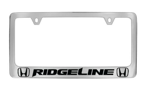 Honda Ridgeline Chrome Plated Metal License Plate Frame Holder
