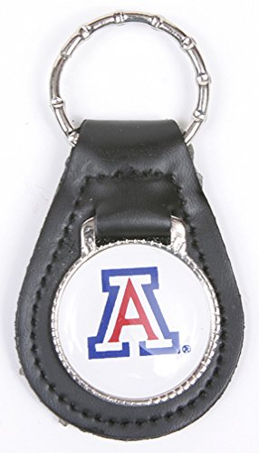 Arizona Wildcats Keychain & Keyring - Leather