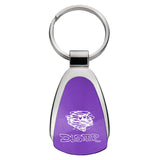 Plymouth Duster Keychain & Keyring - Purple Teardrop