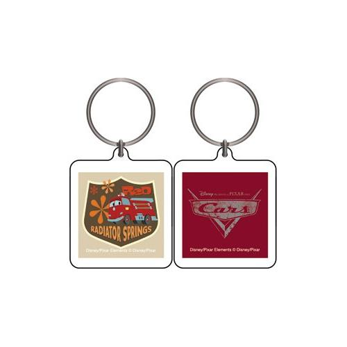 Cars the Movie Radiator Springs Keychain & Keyring