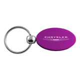 Chrysler Keychain & Keyring - Purple Oval