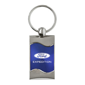 Ford Expedition Keychain & Keyring - Blue Wave