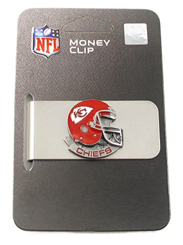 Kansas City Chiefs NFL Helmet Money Clip