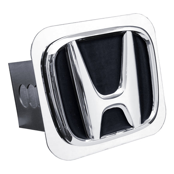 Honda 'Black Fill' Chrome Trailer Hitch Plug