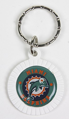 Miami Dolphins NFL Keychain & Keyring - Circle