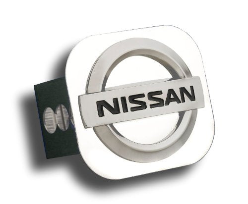 Nissan Chrome Trailer Hitch Plug - Black