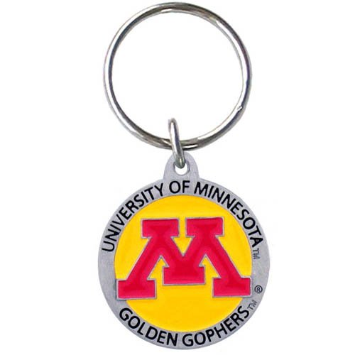 Minnesota Golden Gophers Keychain & Keyring - Pewter