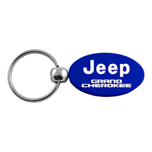 Jeep Grand Cherokee Keychain & Keyring - Blue Oval
