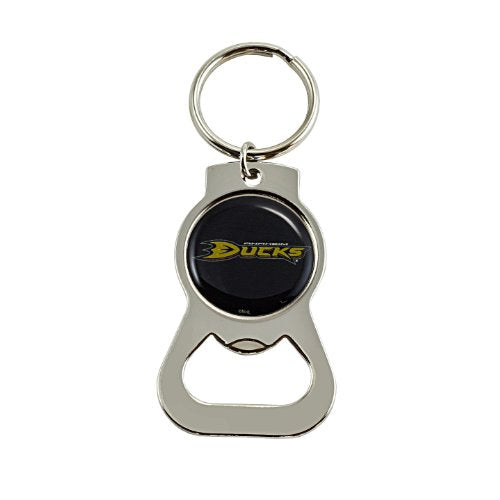 Anaheim Mighty Ducks NHL Keychain & Keyring - Bottle Opener - Silver
