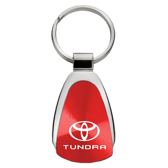 N//P Genuine Leather Car Logo Keychain Suit for Toyota TRD Sequoia Tundra Tacoma 4RunnerTrucks Vehicle,Key Chain Keyring Lanyard for Man and Woman Brown