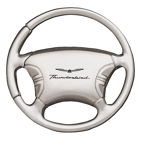 Ford Thunderbird Keychain & Keyring - Steering Wheel