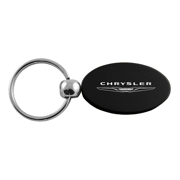 Chrysler Keychain & Keyring - Black Oval