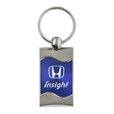 Honda Insight Keychain & Keyring - Blue Wave