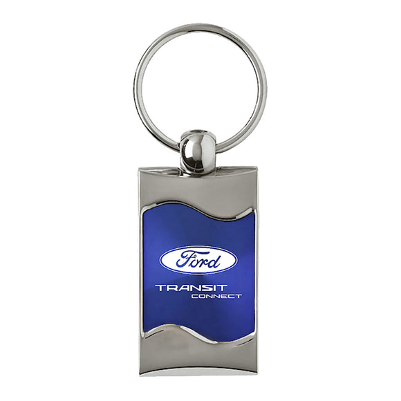 Ford Transit Connect Keychain & Keyring - Blue Wave
