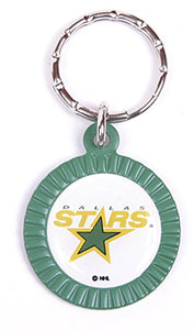 Dallas Stars NHL Keychain & Keyring - Circle