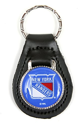 New York Rangers NHL Keychain & Keyring - Leather