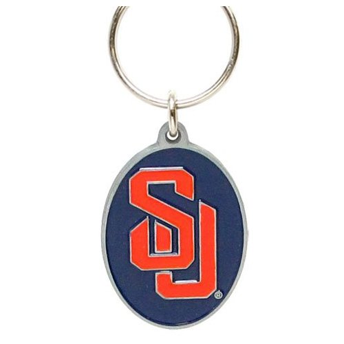 Syracuse Orange Keychain & Keyring - Pewter