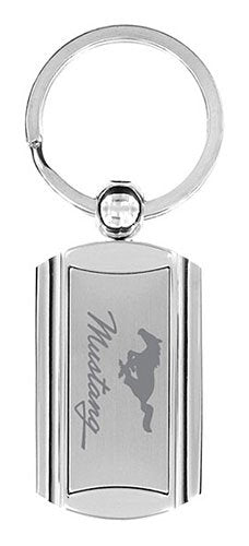 Ford Mustang Keychain & Keyring - Premium Rectangle