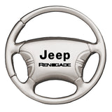Jeep Renegade Keychain & Keyring - Steering Wheel
