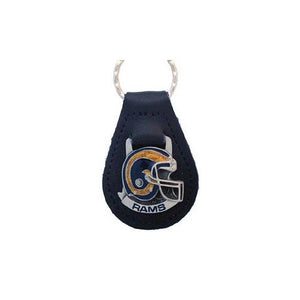 St. Louis Rams NFL Keychain & Keyring - Leather