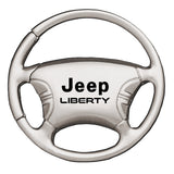 Jeep Liberty Keychain & Keyring - Steering Wheel