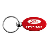 Ford F-150 Raptor Keychain & Keyring - Red Oval