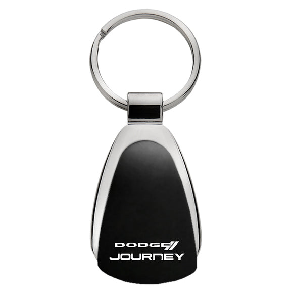 Dodge Journey Keychain & Keyring - Black Teardrop