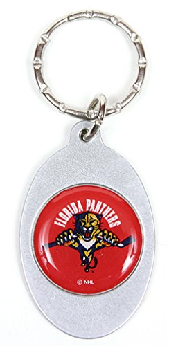 Florida Panthers NHL Keychain & Keyring - Oval