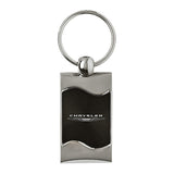 Chrysler Keychain & Keyring - Black Wave