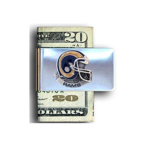 St. Louis Rams NFL Helmet Money Clip
