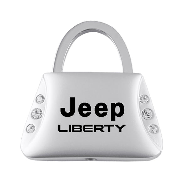 Jeep Liberty Keychain & Keyring - Purse with Bling