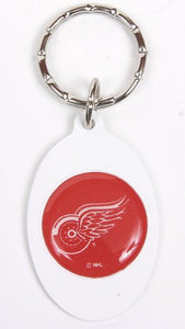 Detroit Red Wings NHL Keychain & Keyring - Oval