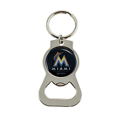 Miami Marlins MLB Keychain & Keyring - Bottle Opener