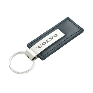 Volvo Keychain & Keyring - Premium Leather