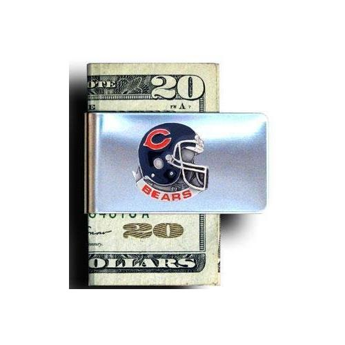 Chicago Bears NFL Helmet Money Clip