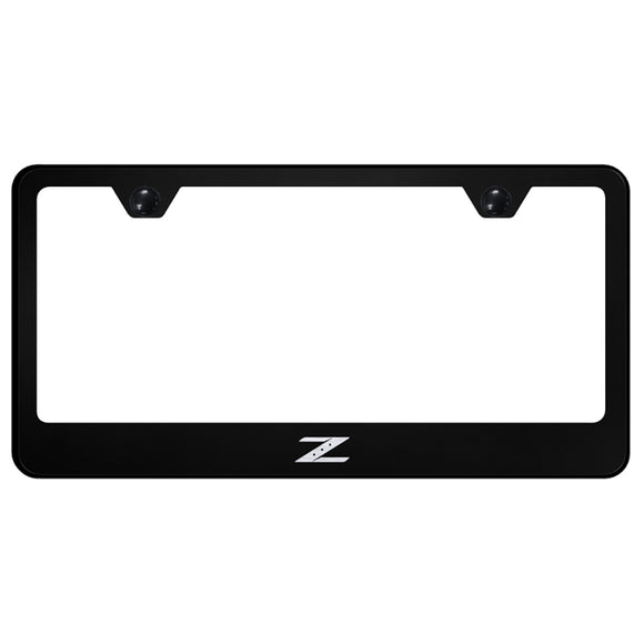 Nissan Z Black License Plate Frame