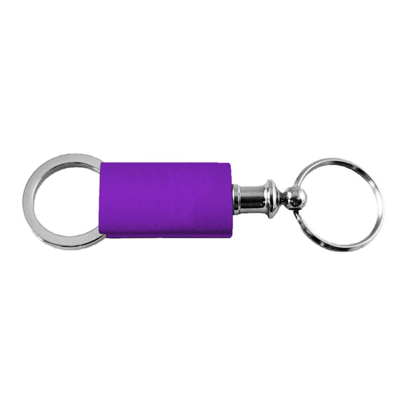 Metal Promotional Keychain & Keyring - Purple Valet
