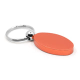 Chrysler Keychain & Keyring - Orange Oval