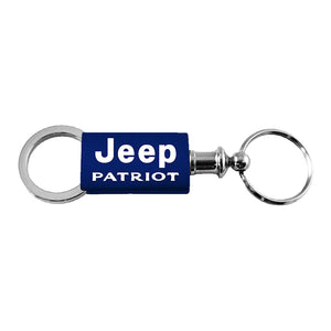 Jeep Patriot Keychain & Keyring - Navy Valet
