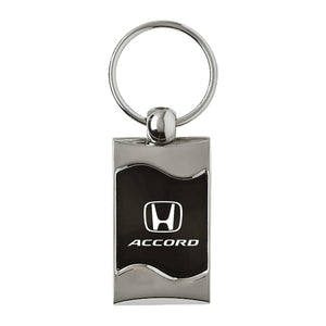 Honda Accord Keychain & Keyring - Black Wave