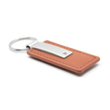 Jeep Rubicon Keychain & Keyring - Brown Premium Leather