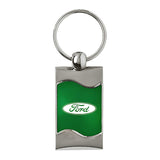 Ford Keychain & Keyring - Green Wave