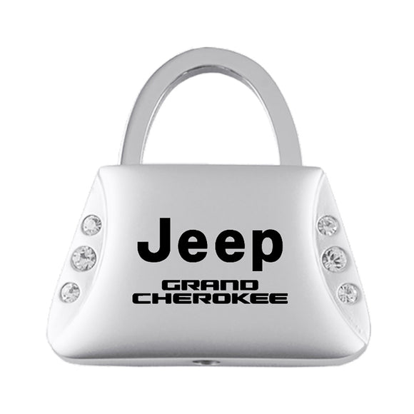 Jeep Grand Cherokee Keychain & Keyring - Purse with Bling